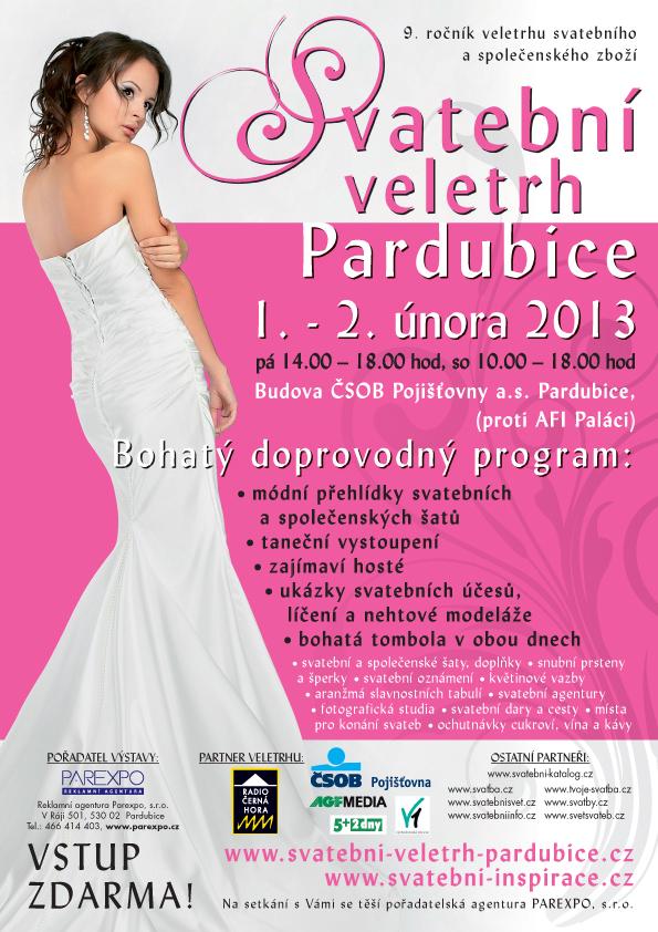 Svatební veletrh Pardubice 2013.